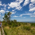 A view of the Atlantic from the top of the dune.- Fort Miles Historical Area