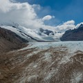 An overhead view of the glacier you will have just crossed.- Huemul Circuit