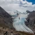 Rio Tunel Glaciar Superior.- Huemul Circuit