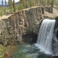 Rainbow Falls.- Iva Bell Hot Springs via Fish Creek Trail