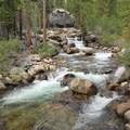 Fish Creek.- Iva Bell Hot Springs via Fish Creek Trail