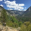 The descent into Fish Creek Canyon.- Iva Bell Hot Springs via Fish Creek Trail
