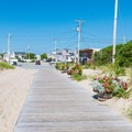 Heading back out into town. - Seabrook Dunes + Beach