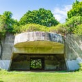 The Battery Seaman, where 6-inch guns were stored during World War II. - Odiorne Point State Park + Seacoast Science Center