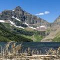 Upper Two Medicine Lake.- Upper Two Medicine Lake Campground