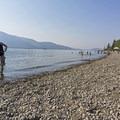 The beach here is great for children.- Jackson Lake Swim Beach