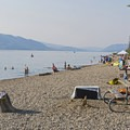 Jackson Lake is a great place for the family.- Jackson Lake Swim Beach