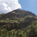 View from the trail.- Mosca Pass Trail