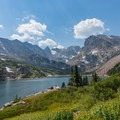 Lake Isabelle.- Pawnee and Buchanan Pass Loop