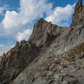 West end of the summit of Pawnee Peak.- Pawnee and Buchanan Pass Loop