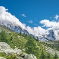 Mont Blanc from Grand Balcon Nord.- Grand Balcon Nord