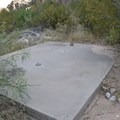 Camping location.- Hueco Tanks State Park and Historic Site