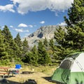 Great views are offered.- Rising Sun Campground