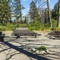 Rising Sun amphitheater.- Rising Sun Campground