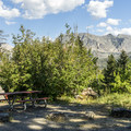 Many sites have great views.- Rising Sun Campground