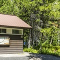 Flush toilets are standard at most Glacier National Park campgrounds.- Many Glacier Campground