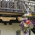 Lake McDonald Lodge.- Lake McDonald Lodge