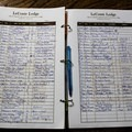 Whether it's your first trip up to the top or 50th, don't forget to sign the guest book!- LeConte Lodge