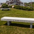 Benches are scattered throughout the park in order to enjoy the view.- Cape Neddick Lighthouse