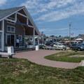 The visitor center.- Cape Neddick Lighthouse