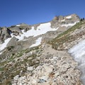 Snow fields are likely to remain into early September.- Paintbrush Canyon to Cascade Canyon Loop