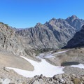 You'll have amazing mountain views during the entire ascent up Paintbrush Divide.- Paintbrush Canyon to Cascade Canyon Loop