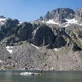 Lake Solitude is the perfect setting to enjoy your lunch and take a dip if your body can handle the chilly water temperatures.- Paintbrush Canyon to Cascade Canyon Loop