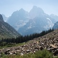 This view is exactly why most people hike counter-clockwise and down through Cascade Canyon.- Paintbrush Canyon to Cascade Canyon Loop