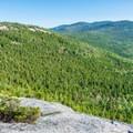 View along the ridge.- Welch-Dickey Loop