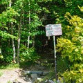 Trailhead for Bald Mountain and the loop to Artists Bluff.- Artists Bluff and Bald Mountain