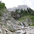 Odle-Puez Natural Park in the Dolomites.- Alta Via No. 2