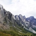 Mulaz Mountains in the Dolomites.- Alta Via No. 2