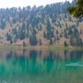 Cool off at Wade Lake.- Cliff and Wade Lakes