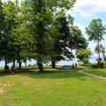 The picnic area located near the swimming area of the park.- Leesylvania State Park Campground
