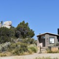 Vault toilets, trash, and recycling are available at City of Rocks.- City of Rocks Campground