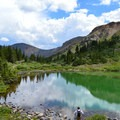 Lost Lake in August.- Lost Lake Hike