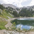 Lower Red Pine Lake.- Lower Red Pine Lake Trail