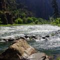 Gunnison River.- Gunnison Route