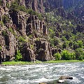 View along the river.- Gunnison Route