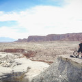 Henry Mountain Overlook.- Wild Horse Bike Trail System