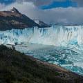 Center and south end of Perito Moreno Glacier.- Los Glaciares National Park