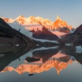 Sunrise on Cerro Torre.- Los Glaciares National Park