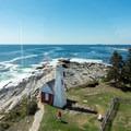 A view south toward Pemaquid Point. - Pemaquid Lighthouse