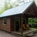 Lady Slipper Cabin.- Woodford State Park Campground