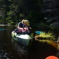 Kayaking the wetlands.- Woodford State Park Campground