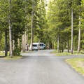 Madison loop road.- Madison Campground