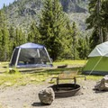 Tent camping in Madison Campground.- Madison Campground