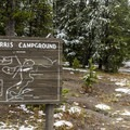 Norris Campground has several loops.- Norris Campground