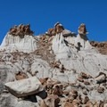 Unnamed formations, which you may have fun naming.- Bisti/De-na-zin Badlands