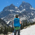 Be aware that even in June there can be knee deep snow toward Lake Solitude and even more up higher toward the divide. Plan this as a late summer hike.- Paintbrush Canyon to Cascade Canyon Loop